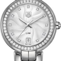 TAG Heuer Link Lady Steel 34.5mm Silver