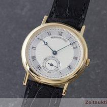 Breguet Classique 18k (0,750) Gold Handaufzug Herrenuhr Medium