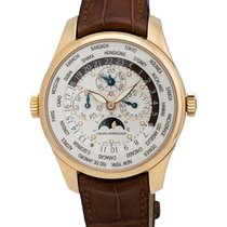 Girard Perregaux ww.tc 18K Rose Gold Perpetual Calendar Men's...