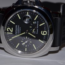 Panerai PAM00090 Steel Luminor Power Reserve 44mm pre-owned United States of America, New York, Greenvale