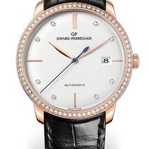Girard Perregaux 1966 49525D52A1A1-BK6A Girard Perregaux 1966 38mm Diamanti Nero new