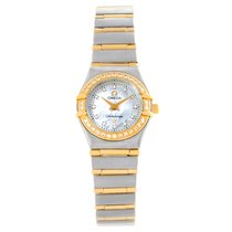 Omega Constellation My Choice Mini Mop Diamond Ladies Watch...