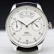 IWC IW503501 Portuguese Annual Calendar SS Silver Dial (27200)
