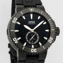 Oris 46mm Automatic new Aquis Titan Black