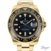 Rolex Gmt-Master II LN 18K Yellow Gold