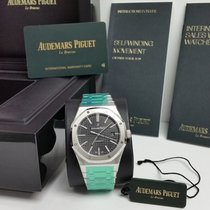 Audemars Piguet Royal Oak Selfwinding 41mm Black/Silver  STICKERS