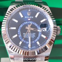 Rolex Sky-Dweller Ref. 326934  blau blue 2018 box&papers  TOP