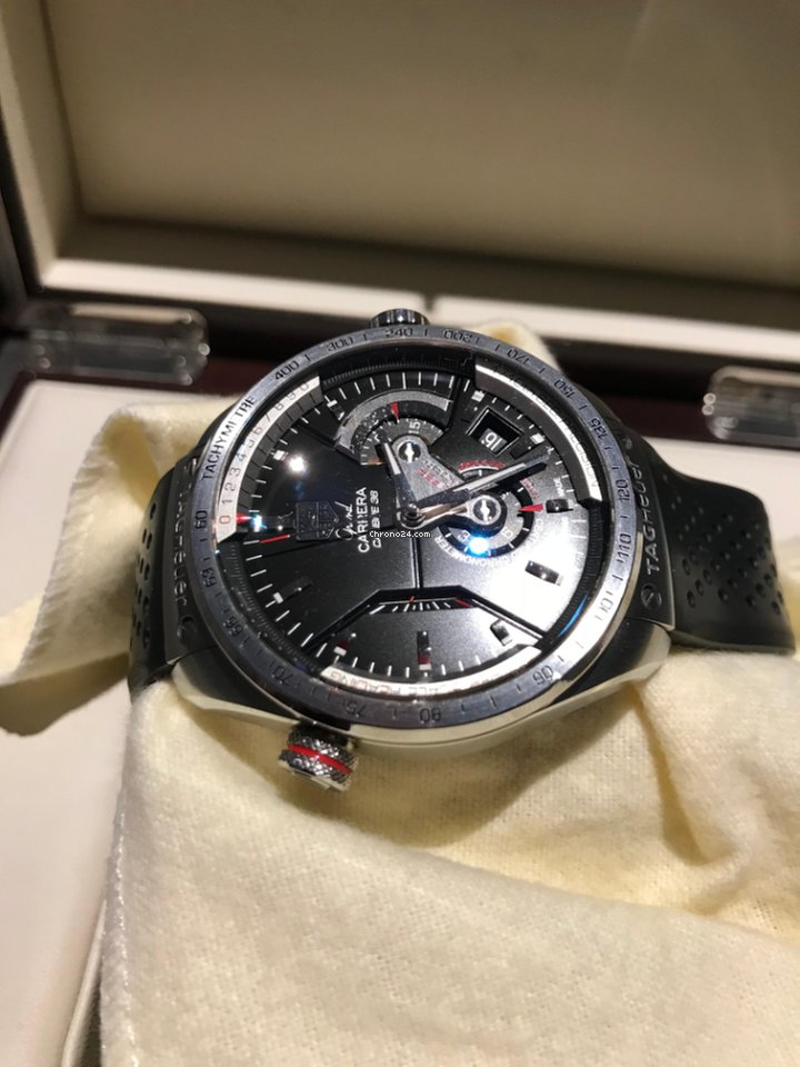 cca5c655cf4 TAG Heuer Grand Carrera - all prices for TAG Heuer Grand Carrera watches on  Chrono24