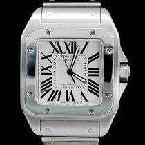 Cartier Santos 100 occasion 41mm Acier