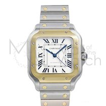 Cartier Santos (submodel) new 35mm Gold/Steel