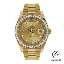 Rolex Day-Date II 218348 tweedehands