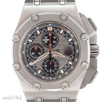 Audemars Piguet Titan Automatik Grau 44mm gebraucht Royal Oak Offshore Chronograph