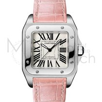 Cartier Santos 100 new Automatic Watch with original box and original papers W20126X8