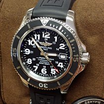 Breitling Superocean II 42 Acero 42mm Negro Árabes