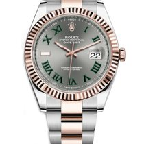 Rolex Datejust II Gold/Steel 41mm Grey No numerals United States of America, New York, NEW YORK