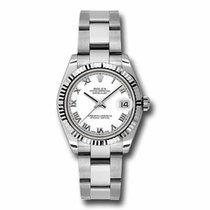 Rolex Lady-Datejust Acero 31mm Blanco
