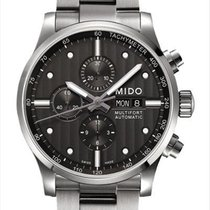 Mido Multifort Chronograph M005.614.11.061.00 New Steel 44mm Automatic