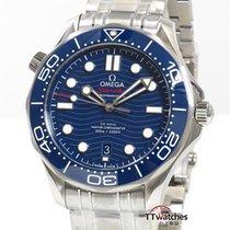 Omega Seamaster Diver 300 M Ocel 42mm Modrá
