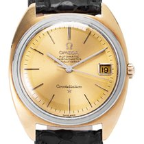 Omega Constellation Yellow gold 33.5mm