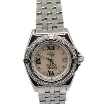 Breitling Wings Lady Steel 32mm Mother of pearl Roman numerals