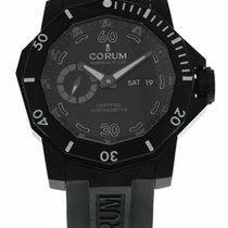 Corum pre-owned Automatic 48mm Black Sapphire Glass 100 ATM