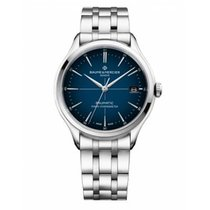 Baume & Mercier Clifton Steel 40mm Blue No numerals