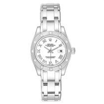 Rolex Lady-Datejust Pearlmaster White gold 29mm White Roman numerals United States of America, Georgia, Atlanta