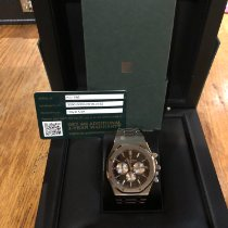 Audemars Piguet Royal Oak Chronograph occasion 41mm Noir Chronographe Acier