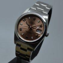 Rolex Oyster Perpetual Date Ατσάλι 34mm Ροζ Αραβικοί Ελλάδα, ATHENS
