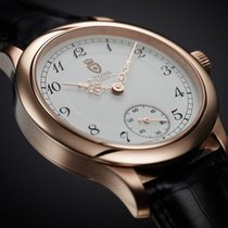 York Rose gold 44mm Manual winding 500-100 new