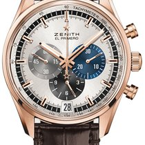 Zenith El Primero Chronomaster Rose gold 42mm Silver United States of America, New York, Airmont