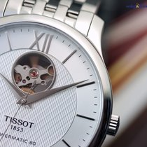 Tissot Tradition Powermatic 80 Open Heart Steel on Steel ...