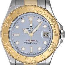 Rolex Yacht - Master Midsize Unisex 2-Tone Watch 168623