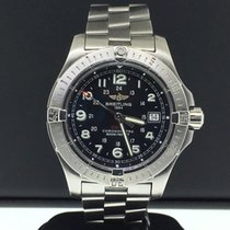 Breitling Colt 41mm Stainless Steel Black Arabic Dial Quartz...