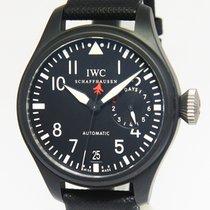 IWC Big Pilot Top Gun 5019 7 Days Black Ceramic Mens 48mm...