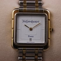 Yves Saint Laurent Gold/Steel Quartz 19125 pre-owned