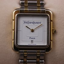 Yves Saint Laurent Or/Acier Quartz 19125 occasion