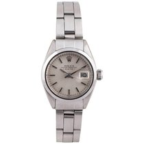 Rolex Ladies Stainless Steel Date Oyster Perpetual self-winding