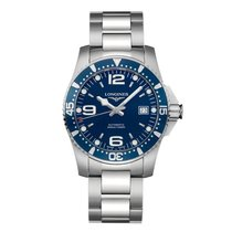 Longines HydroConquest nieuw 41mm Staal