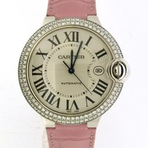Cartier Ballon Bleu white gold diamonds WE900951