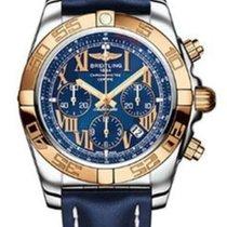 Breitling Chronomat 44 Rose gold 44mm Blue Roman numerals UAE, Dubai