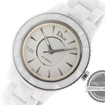Dior 38mm Automatic pre-owned VIII White