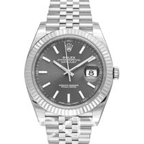 Rolex Datejust 41 Dark Rhodium 18k White Gold/Steel Jubilee...