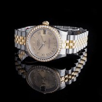 Rolex Lady-Datejust new Automatic Watch with original box and original papers 178383 Gold