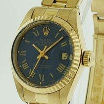 51f77196c30 Rolex Oro amarillo Automático Azul Sin cifras 26mm usados Lady-Datejust.  Rolex Lady-Datejust Gold 18 kt ref 6917