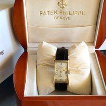 Patek Philippe Hour Glass Żółte złoto 25mm Srebrny Arabskie