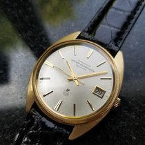 Girard Perregaux Yellow gold Automatic Silver 34mm pre-owned