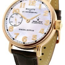 Poljot Nights of St. Petersburg Steel 43mm White Arabic numerals