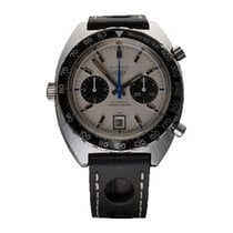 Heuer Steel 42mm Automatic 1163T pre-owned