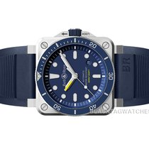 Bell & Ross BR 03-92 Steel Steel 42mm Blue No numerals United States of America, Florida, Aventura